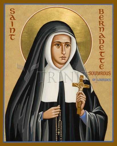 St. Bernadette of Lourdes by Joan Cole
