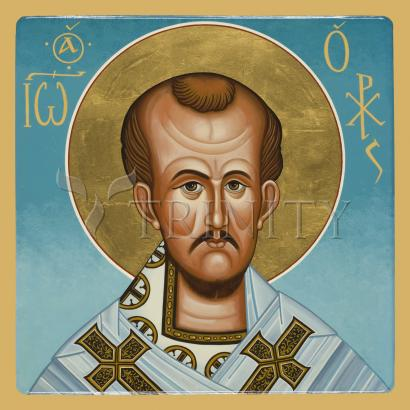 St. John Chrysostom by Joan Cole