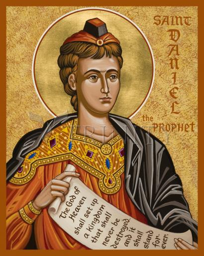 St. Daniel the Prophet by Joan Cole
