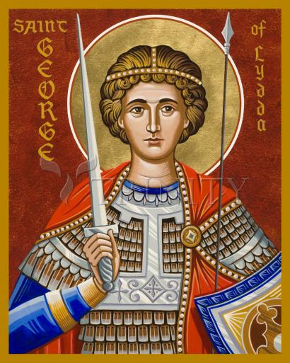 St. George of Lydda by Joan Cole