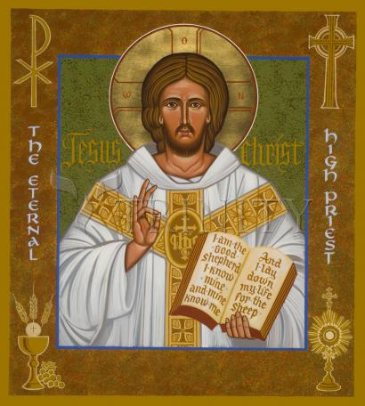 Jesus Christ - Eternal High Priest by Joan Cole
