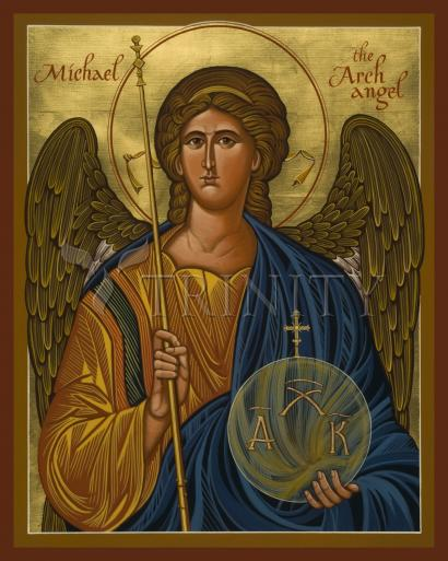 St. Michael Archangel by Joan Cole
