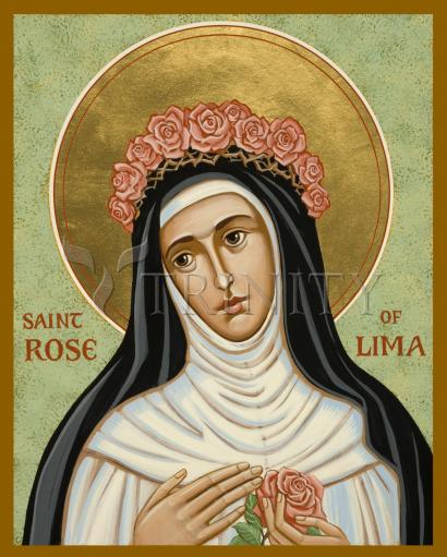 St. Rose of Lima by Joan Cole