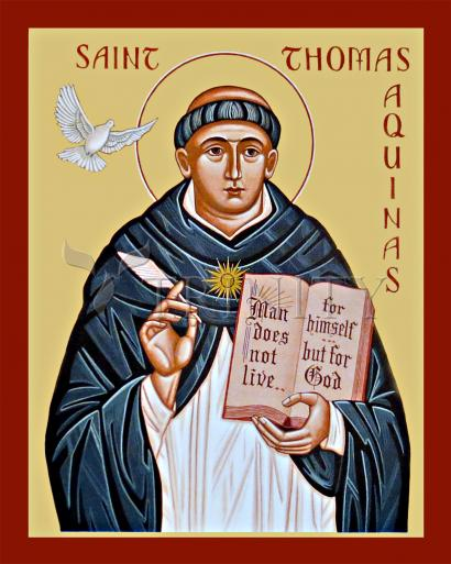 St. Thomas Aquinas by Joan Cole