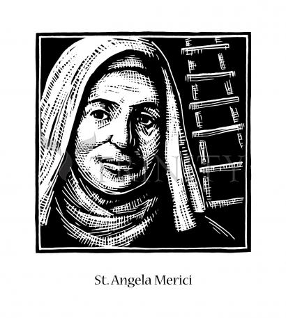 St. Angela Merici by Julie Lonneman