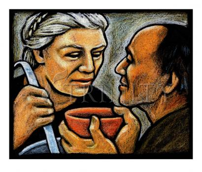 Dorothy Day Feeding the Hungry by Julie Lonneman
