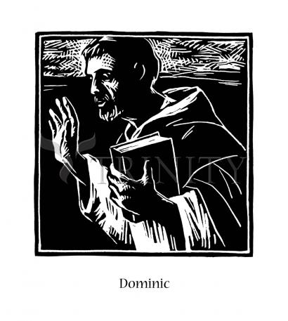 St. Dominic by Julie Lonneman