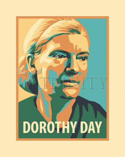 Dorothy Day, 1938 by Julie Lonneman