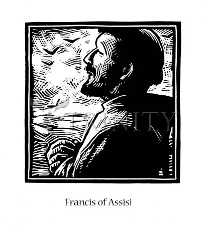 St. Francis of Assisi by Julie Lonneman