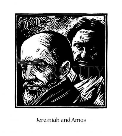 Jeremiah and Amos by Julie Lonneman