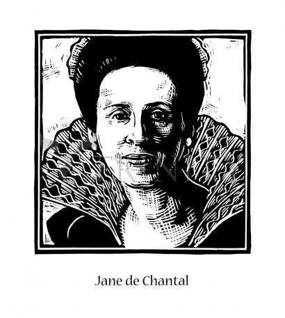 St. Jane Frances de Chantal by Julie Lonneman