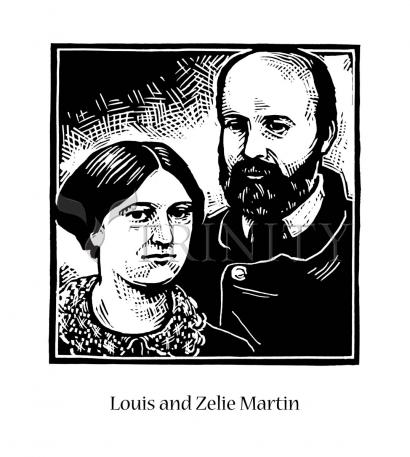 Sts. Louis and Zélie Martin by Julie Lonneman