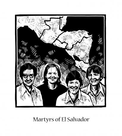 Martyrs of El Salvador by Julie Lonneman