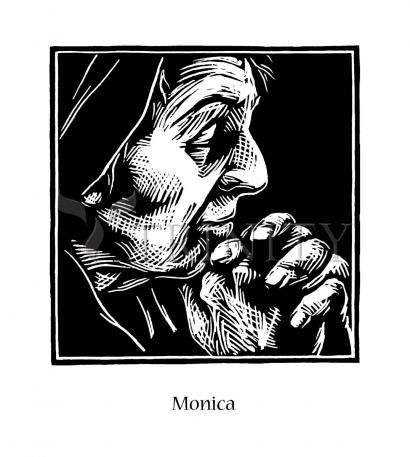 St. Monica by Julie Lonneman