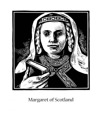 St. Margaret of Scotland by Julie Lonneman