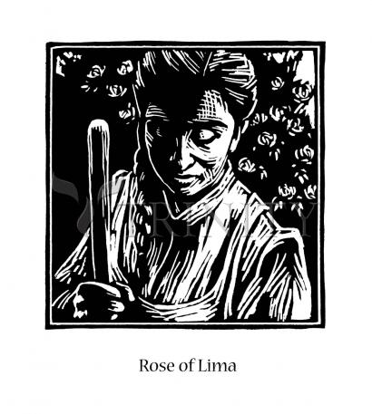 St. Rose of Lima by Julie Lonneman