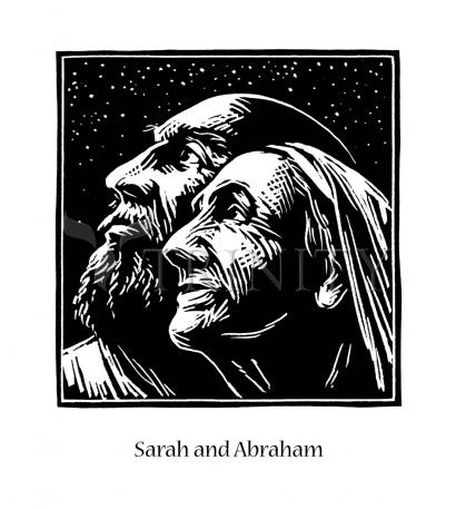 Sarah and Abraham by Julie Lonneman