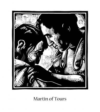 St. Martin of Tours by Julie Lonneman