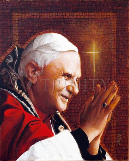 Pope Benedict XVI by Louis Glanzman