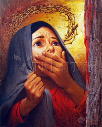 Mary at the Cross by Louis Glanzman