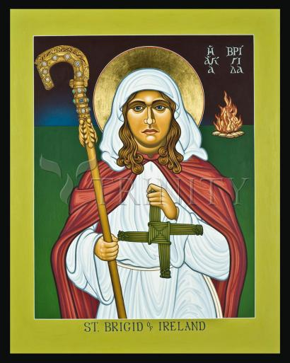 St. Brigid of Ireland by Lewis Williams, OFS