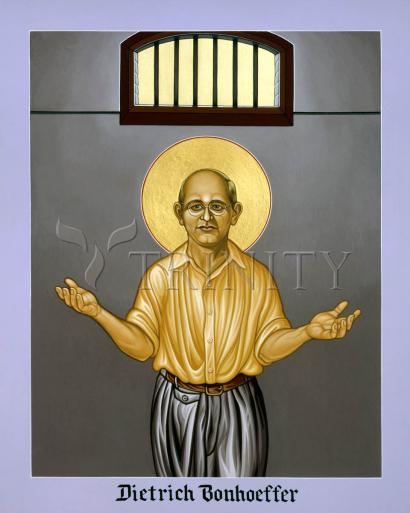 Dietrich Bonhoeffer by Lewis Williams, OFS