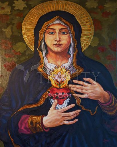 Immaculate Heart of Mary by Lewis Williams, OFS