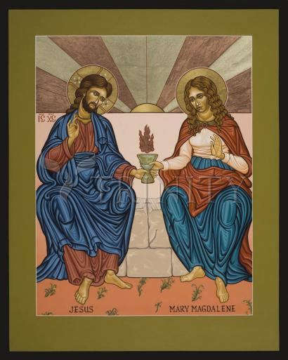Jesus and Mary Magdalene by Lewis Williams, OFS