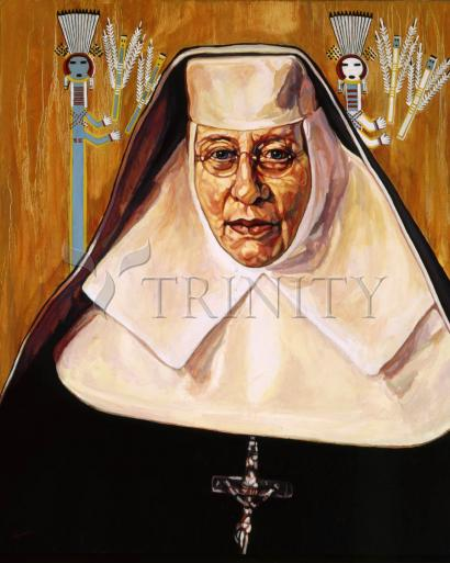 St. Katharine Drexel by Lewis Williams, OFS
