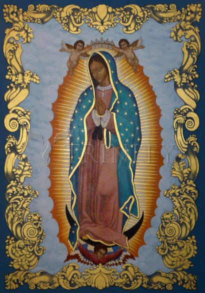 Our Lady of Guadalupe by Lewis Williams, OFS