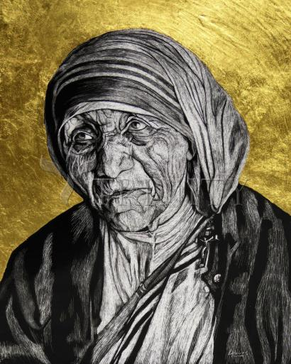 St. Teresa of Calcutta: Gift of Silence by Lewis Williams, OFS