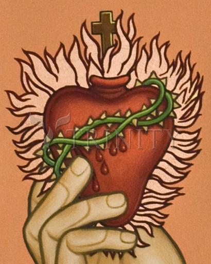 Sacred Heart by Lewis Williams, OFS