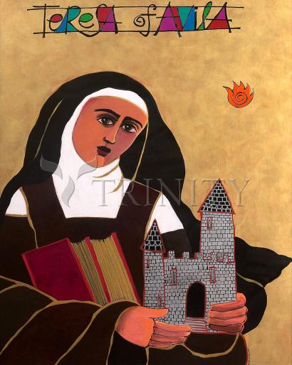 St. Teresa of Avila by Br. Mickey McGrath, OSFS