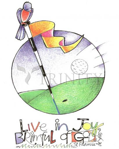 Golfer: Brimful of Joy by Br. Mickey McGrath, OSFS