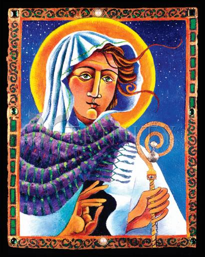 St. Brigid by Br. Mickey McGrath, OSFS