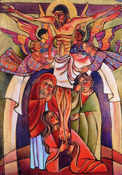 Crucifixion by Br. Mickey McGrath, OSFS