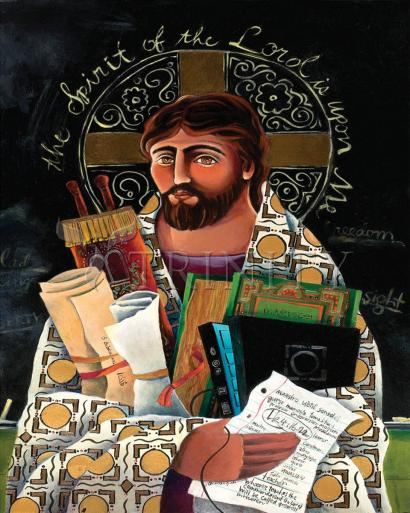 Christ the Teacher by Br. Mickey McGrath, OSFS