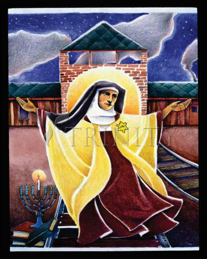 St. Edith Stein by Br. Mickey McGrath, OSFS