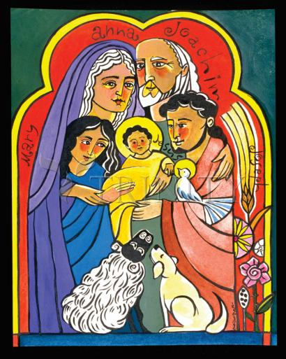 The Extended Holy Family by Br. Mickey McGrath, OSFS