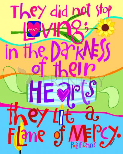 Flame of Mercy by Br. Mickey McGrath, OSFS