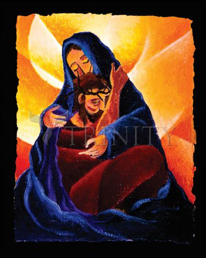 4th Station, Jesus Meets His Mother by Br. Mickey McGrath, OSFS