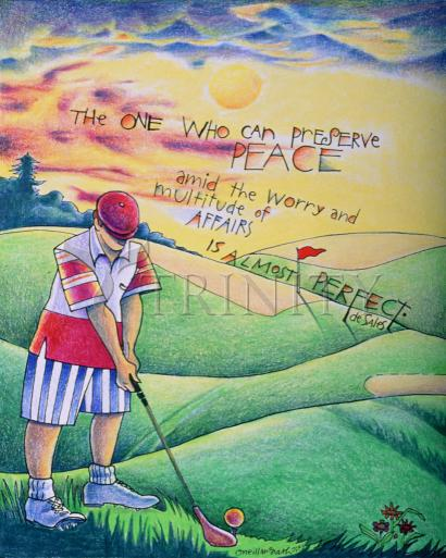 Golfer: The One Who Can by Br. Mickey McGrath, OSFS