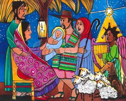 Gift of Christmas by Br. Mickey McGrath, OSFS