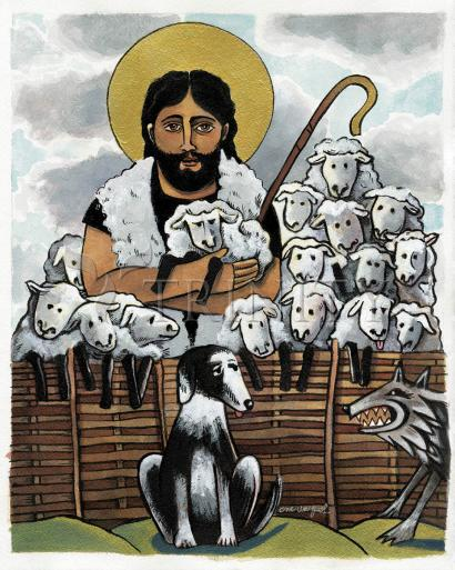 The Good Shepherd by Br. Mickey McGrath, OSFS