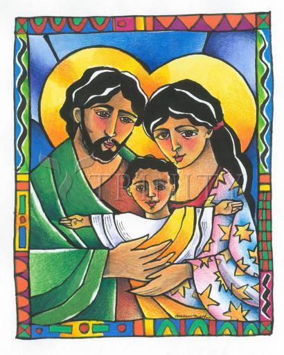 Holy Family by Br. Mickey McGrath, OSFS