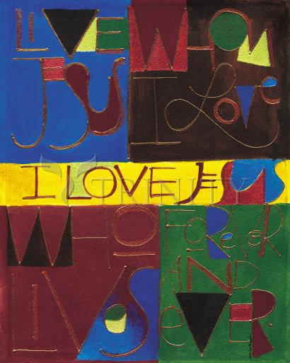 I Love Jesus by Br. Mickey McGrath, OSFS