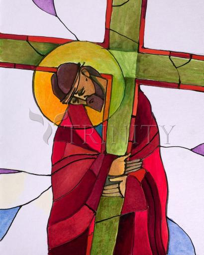 Stations of the Cross - 2 Jesus Accepts the Cross by Br. Mickey McGrath, OSFS