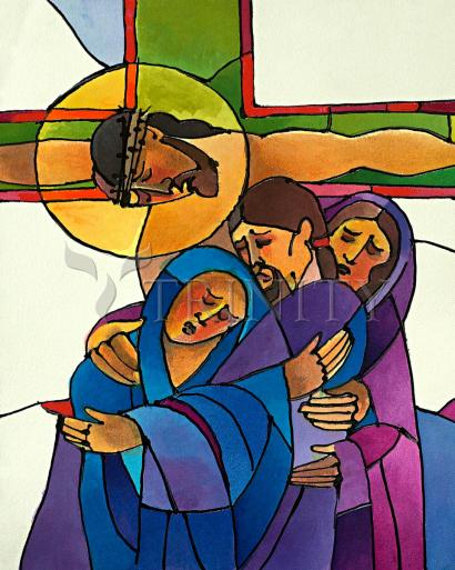 Stations of the Cross - 12 Jesus Dies on the Cross by Br. Mickey McGrath, OSFS