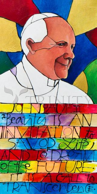 St. John Paul II by Br. Mickey McGrath, OSFS