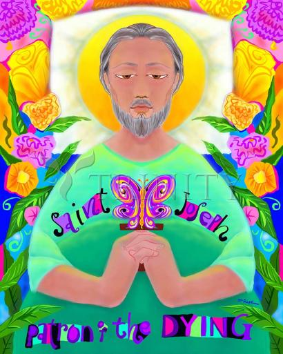 St. Joseph Patron of the Dying by Br. Mickey McGrath, OSFS